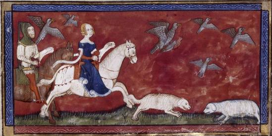 Les livres du roi Modus et de la reine Ratio (1354–1376)