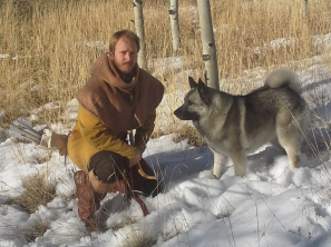 Ivan and Ullr, typical scandinavian hunter