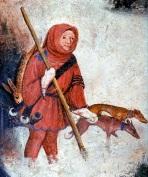 vinterjägare 1410 italien Castello Buonconsiglio,